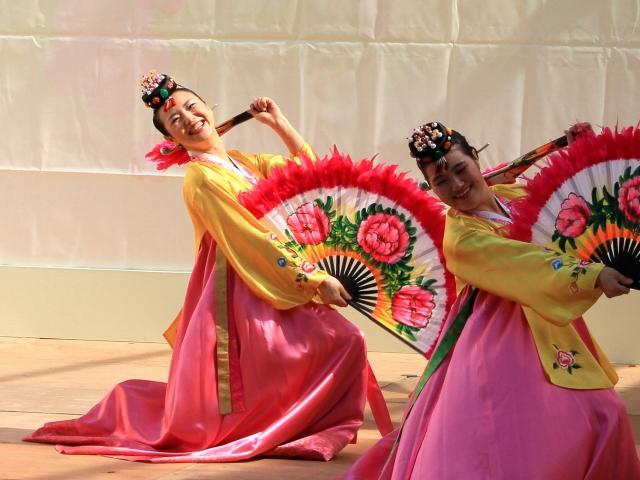韓国舞踊-14