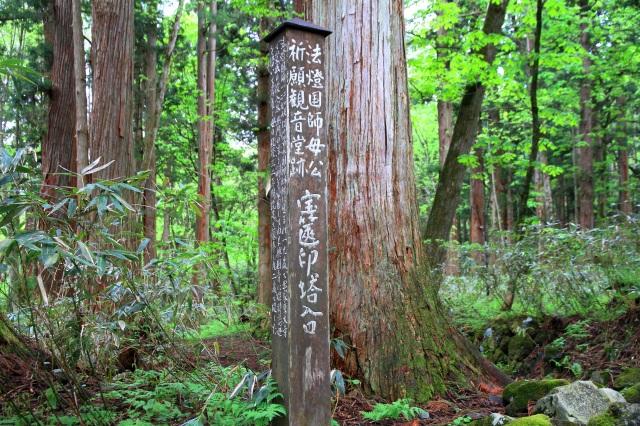 戸隠古道-10
