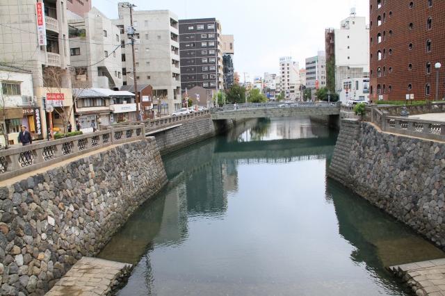 中島川下流