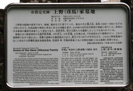 上野彦馬の墓-5