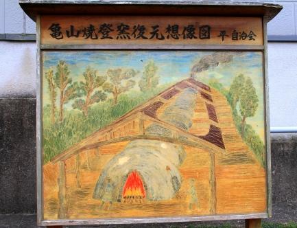 亀山焼窯跡-4