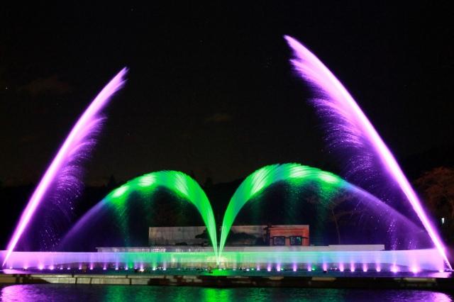 噴水ショー-2