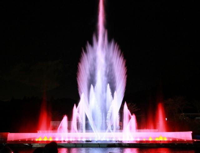 噴水ショー-9