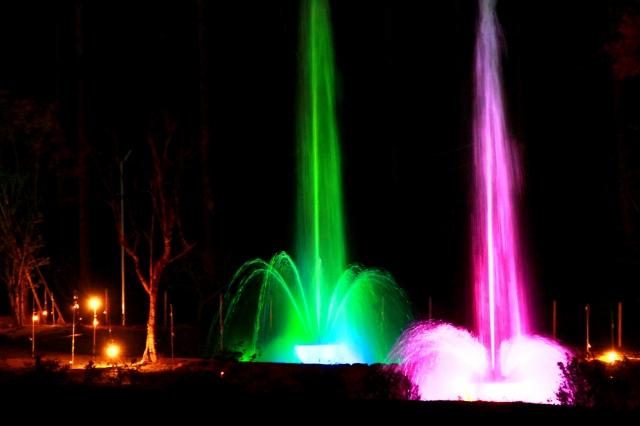 噴水ショー-1