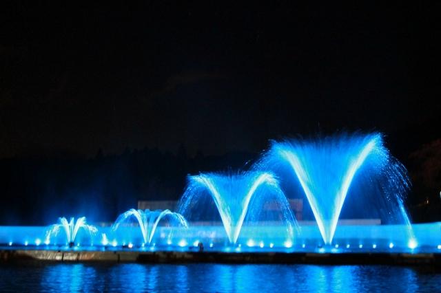 噴水ショー-4