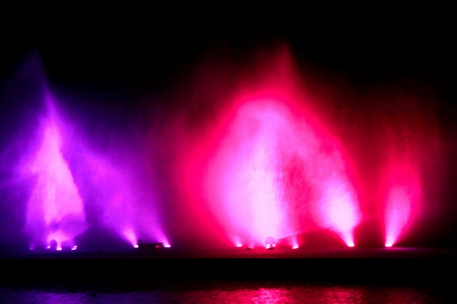 噴水ショー-8