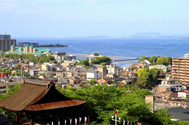 びわ湖眺望-1
