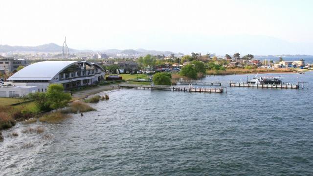 びわ湖の風景-15