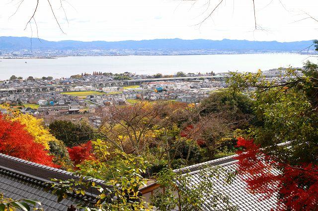 東照宮からの琵琶湖眺望