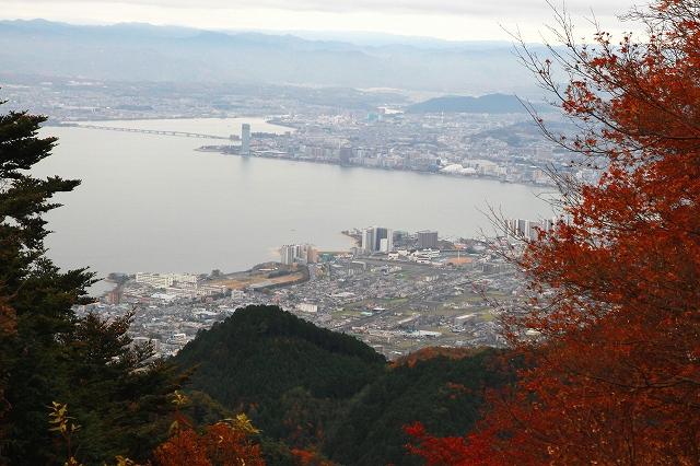 延暦寺駅からの眺望