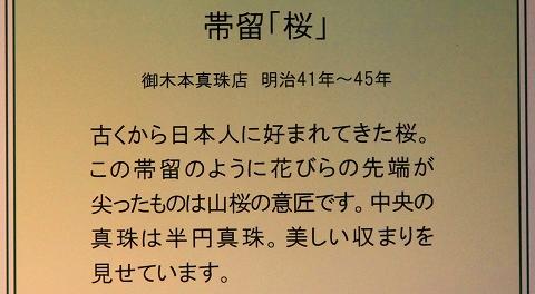 帯留・桜-2