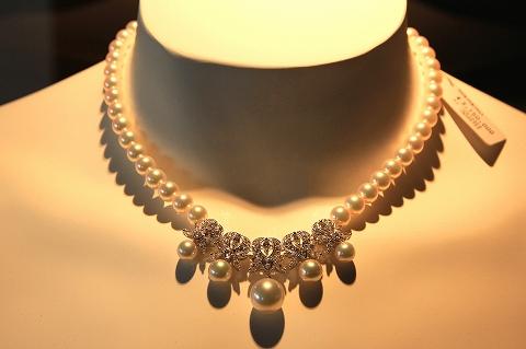 真珠のネックレス-2