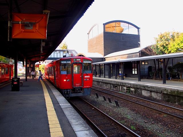 由布院駅-2