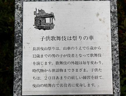 子供歌舞伎の像-2