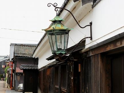 昔のガス灯