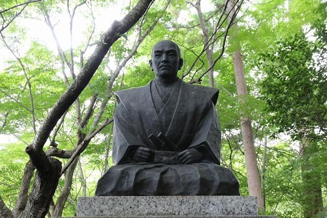 石田三成公像-2