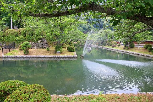 公園内の風景