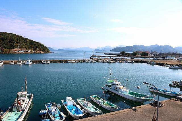 仙崎湾の風景-1