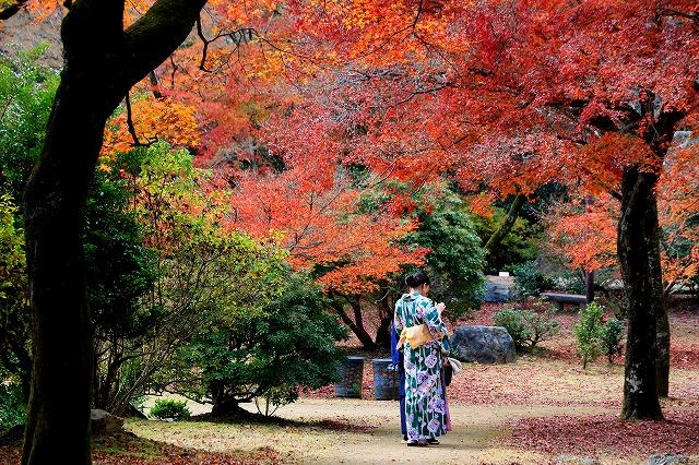京都・嵐山公園