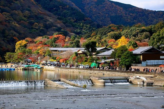 嵐山・渡月橋-2