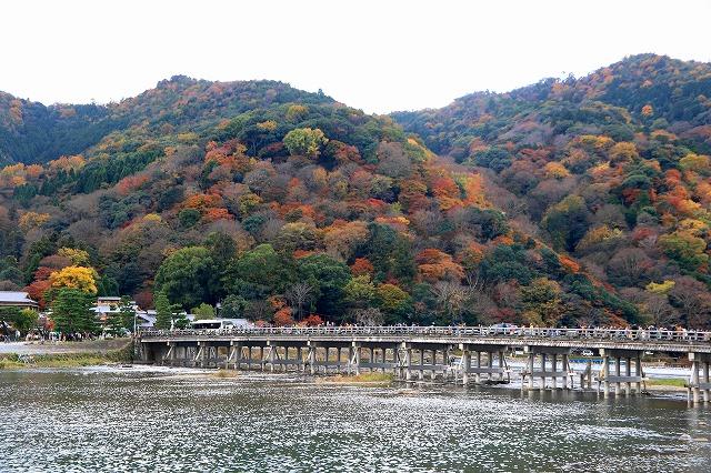 嵐山・渡月橋-3