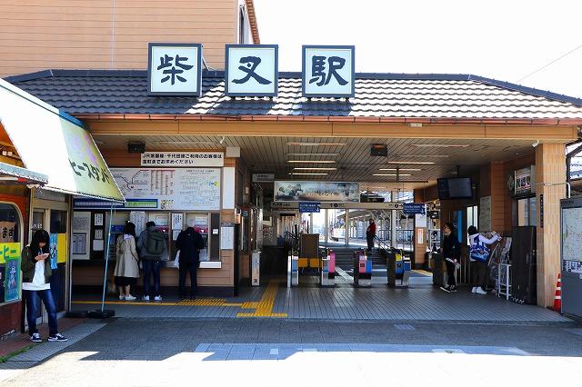 柴又駅-1