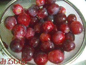 皮ごと食べられて種の無い葡萄|手作りアクセサリー工房みるいる
