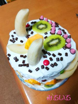 象牙的なケーキ☆Let's celebrate our anniversary.|手作りアクセサリー工房みるいる