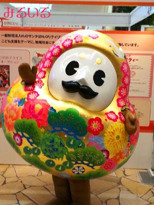 石川県のゆるキャラ【ひゃくまんさん】に出会った!!|手作りアクセサリー工房みるいる