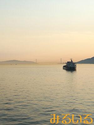 the Inland Sea♪綺麗な夕日|手作りアクセサリー工房みるいる