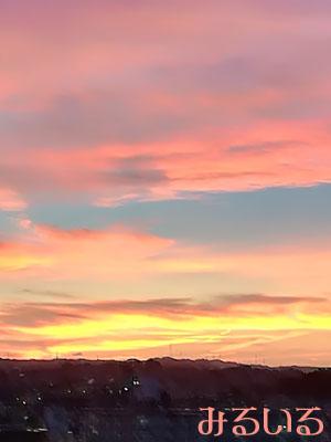 奈良の夕焼けと台風の後の気の抜けた時|手作りアクセサリー工房みるいる