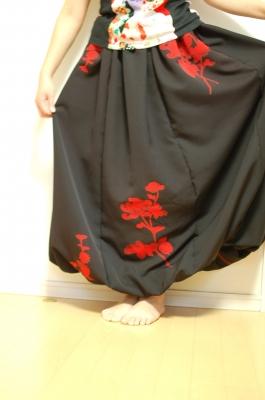 手作り 和柄 レディース バルーンスカート