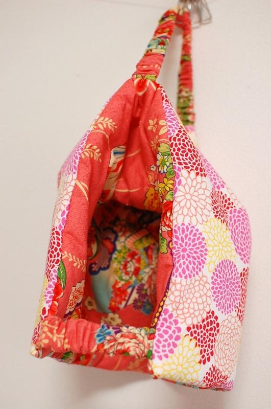 手作り和柄 防災頭巾兼座布団
