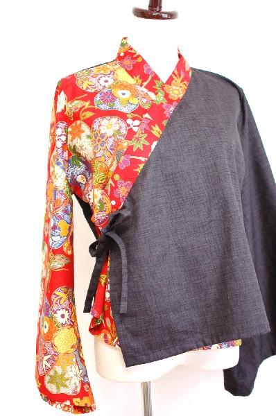 和柄レディース羽織