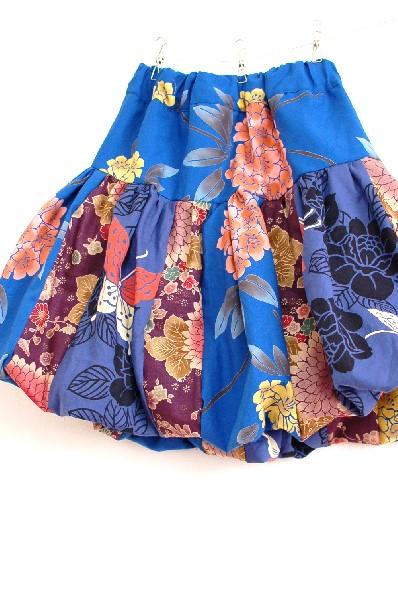 てづくり和柄レディースバルーンスカート
