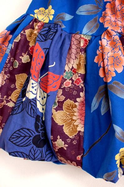 レディース和柄バルーンスカート