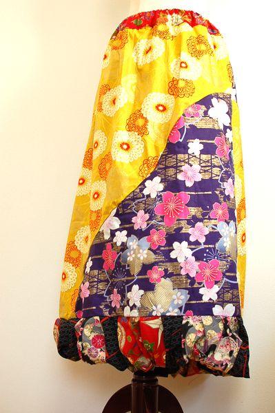 手作りレディースバルーンスカート
