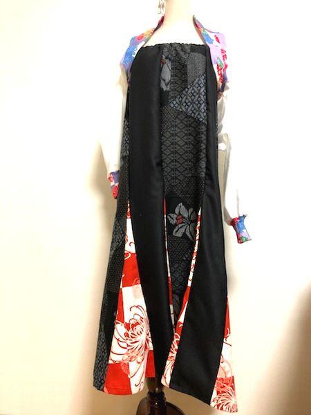 ハンドメイド和柄レディーススカート
