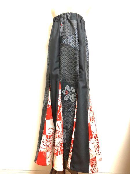 レディース和柄マーメイドスカート