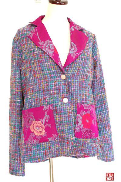 和柄手作りジャケット