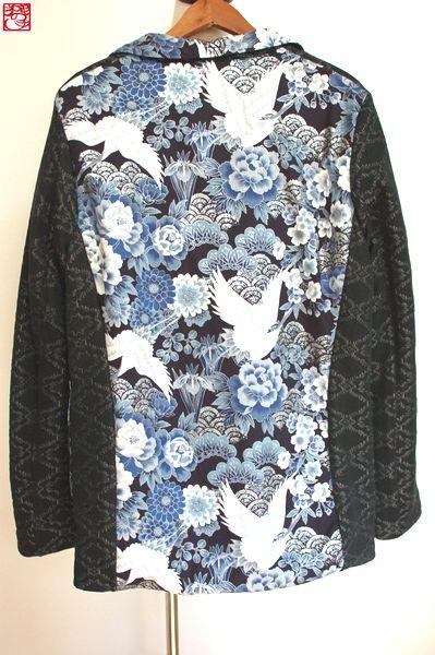 冬用和柄テーラードジャケット