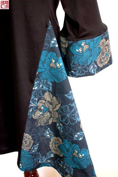 手作り和柄三味線衣装