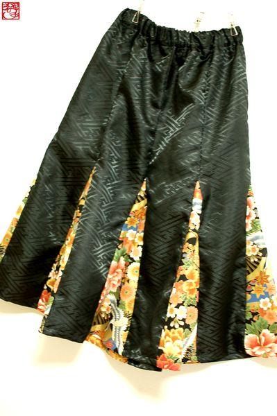 マーメイドスカート和柄レディース
