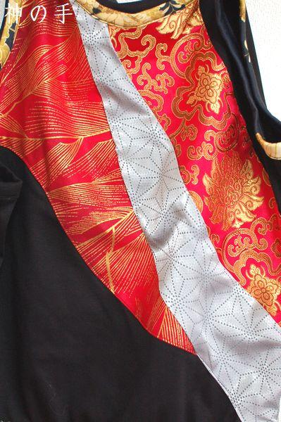 タンクトップ手作り和柄服
