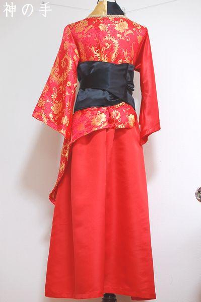 カラオケ大会用和柄衣装