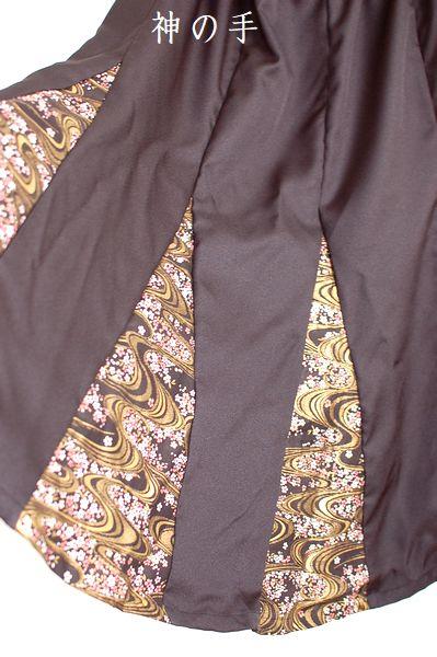 手作りハンドメイド和柄スカート