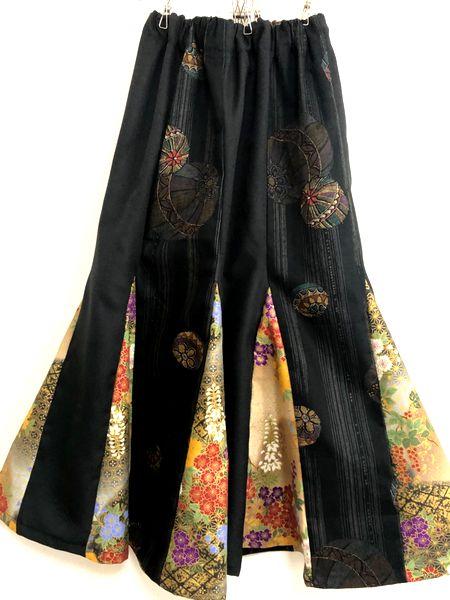 和柄マーメイドスカート