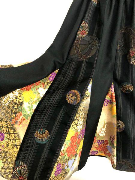 ハンドメイドレディース和柄スカート
