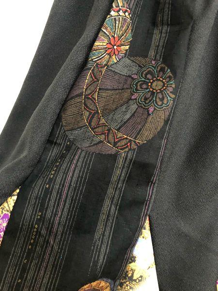 手作り和柄マーメイドスカート