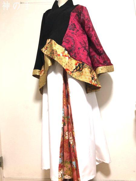 和柄手作り衣装